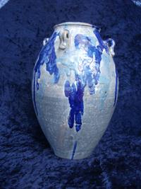 repaired vase