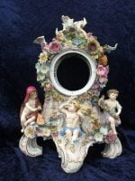 Meissen porcelain 4 season putti clock
