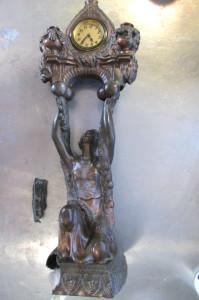 Metal Metal Sculpture before repair