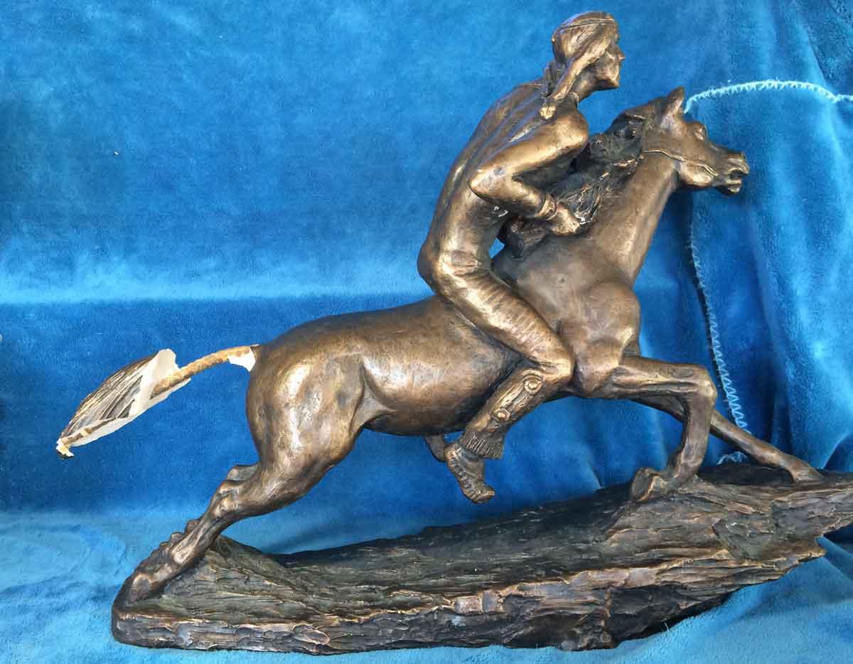 broken bronze statue repair